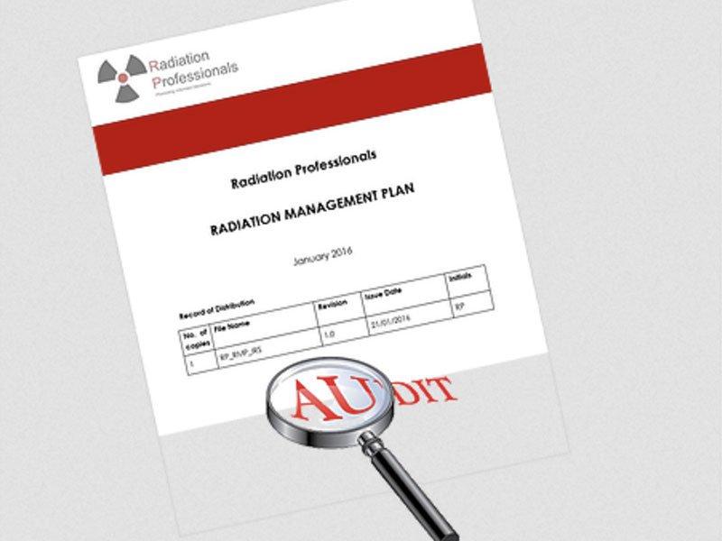 Radiation Management Plans (RMPs) & Compliance Audits